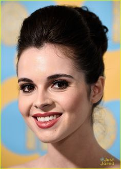 Vanessa Marano Goes Old School Glam for Golden Globes Party!