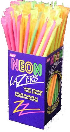 If I remember correctly, these were 10 or 15 cents each when I was a kid. They were tasty (in a massively sugary way), but Pixy Stix were better.
