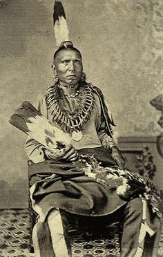 La-roo-chuk-a-la-shar (aka Sun Chief, aka His Chiefly Sun) - Pawnee - circa 1872