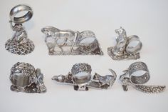 Victorian Figural Napkin Rings