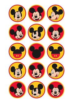 Mickey Mouse Birthday Decorations, Mickey Mouse Crafts, Theme Mickey, Fiesta Mickey Mouse, Mickey Mouse Parties, Mickey Party, Mickey 1st Birthdays, Mickey Mouse Clubhouse Birthday, Mickey Birthday