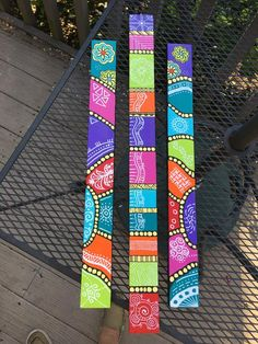 Repurposed Grandfather Clock, Peace Pole, Outdoor Crafts, Outdoor Projects, Garden Poles, Love Wall Art, Painted Sticks, Yard Art, Painting On Wood