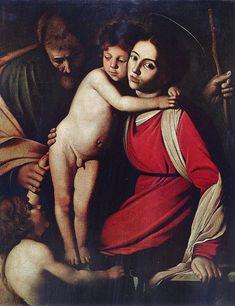 Italian Painters, Italian Artist, Michelangelo Caravaggio, Saint Jean Baptiste, Baroque Painting, Renaissance Paintings, Ouvrages D'art, John The Baptist, Chiaroscuro