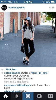 #OOTD from ootdmagazine by @hey_im_kate on Instagram follow this for more cute casual outfits! Www.ootdmagazine.com