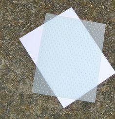 Frantic Stamper Happenings: Technique Thursday: Embossing Folders