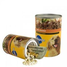 dog safe food - Can Safe Dog Food Hiding Spots, Hiding Places, Secret Storage, Hidden Storage, Food Dog, Dog Food Recipes, Secret Safe, The Secret, Pedigree Dog Food
