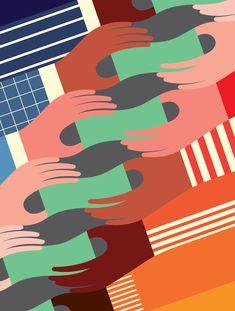 UK-based artist Rob Bailey creates gorgeous illustrations with a minimalist geometric style. More illustrations Visit his website Outline Artists, Grid Design, Flat Design, Hand Illustration, Printmaking, Vector Art, Illustrators, Graphic Art, Graphic Design
