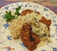 Fluffy Chix Cook: Low Carb Gluten Free Wiener Schnitzel. Great served with smashed Roasted Turnips & Cauliflower!