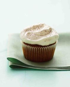 St. Patrick's Day Recipes: In celebration of Saint Patrick's Day, we've reimagined the traditional drink as a cupcake for grown-ups.