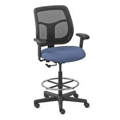 Mesh Drafting Stool- NBF Signature Series | National Business Furniture