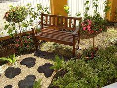 Decoração de Jardins Residenciais pequenos e simples