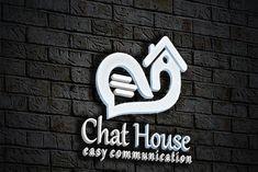 Logo Design Template, Logo Templates, Abstract Logo, Professional Logo Design, Best Logo Design, Logo Concept, Home Logo, Coreldraw, Say Hi