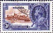 Nigeria 1935 King George V Silver Jubilee SG 32 Fine Used Scott 36 Other Nigerian Stamps HERE