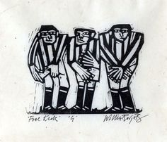 Willie Rodger is one of Scotland's master linocut artists and Associate of the Royal Scottish Academy.