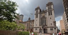 Mosteiro de São Bento, em São Paulo, Brasil.
