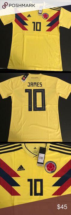 James 10 Rodriguez Trikot Adidas Kolumbien WM 2018 Home 152 bis XXL
