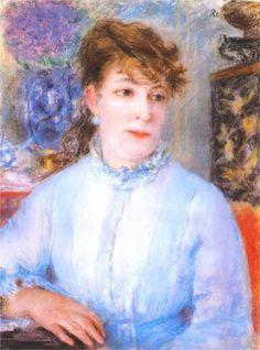 Portrait of a Woman, 1877  Pierre-Auguste Renoir