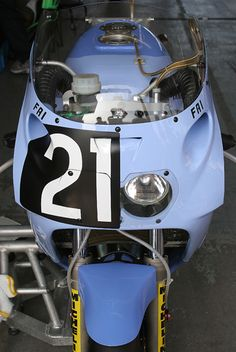 2007年鈴鹿8耐 リバイバル展示のテック21カラー87YZF750