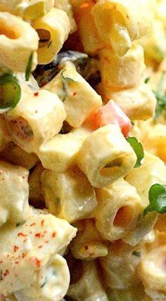 Deviled Egg Pasta Salad ❊