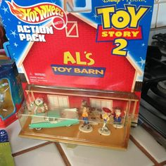 Toy Story 2 AL'S Toy Barn Hot Wheels Action Pack Toys to the Rescue