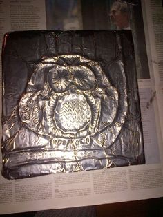 Tin Foil Art, Diy For Kids, Crafts For Kids, Diy And Crafts, Arts And Crafts, Just For Fun, Abstract, Silver, Education