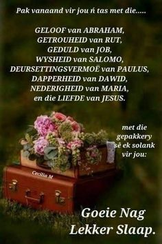 Evening Quotes, Night Quotes, Evening Greetings, Goeie Nag, Sleep Tight, Prayer Quotes, Morning Greeting, Afrikaans, Good Night
