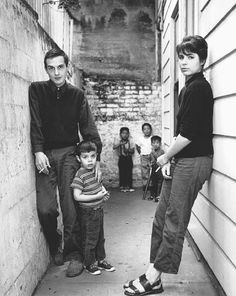 David Meltzer with wife and son by Harry Redl (1950s)