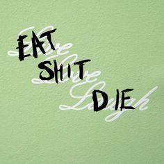 GTA 5 Trevor Wall Decor Eat Shit Die mature by Tinyshitshop, $12.00
