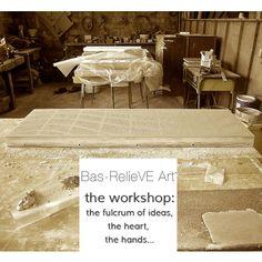 Bas-RelieVEArt THE WORKSHOP #luxuryhomes #interiordesign #venetianmarmorino #madeinitaly #venetianplaster #marble