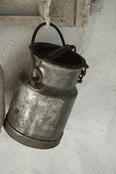 .Daily milk can, for family's use