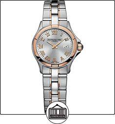 Raymond Weil - Reloj de pulsera mujer, acero inoxidable, color multicolor  ✿ Relojes para mujer - (Lujo) ✿