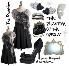 Outfit Inspiration from The Phantom of the Opera.