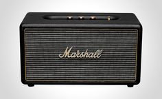 Marshall Kilburn Stereo Speaker - http://daily5things.com/marshall-kilburn-stereo-speaker/