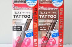 K-palette 1Day Tattoo eyeliner.. lasted me an entire 12-hour shift without budging! My new fave...