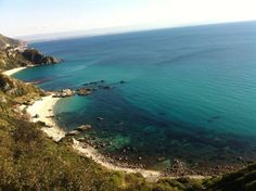 #CapoVaticano #Ricadi from the promontory, amazing view, this is one reason to #travel #Calabria, Southern Italy.