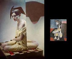 Женщины с картин Пикассо by Eugenio Recuenco