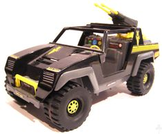 S.A.S Panther Jeep. Came with Stalker figure.