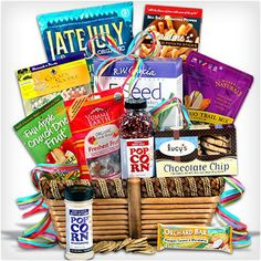 Cure care package perfect for anyone coming down with the 38 unique gift baskets that dont suck gluten free negle Image collections