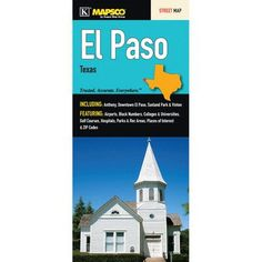 Universal Map El Paso Fold Map (Set of 2)
