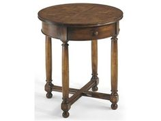 Shop for Jonathan Charles Round Parquet Topped Side Table, 492021, and other Living Room Tables at Englishman's Interiors in Dallas, TX. Features: Medium Walnut.