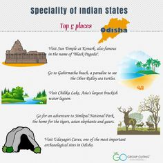 Top 5 destinations you must visit while in ‪#‎Odisha‬ ‪#‎GroupOuting‬ ‪#‎GoGroupOuting‬