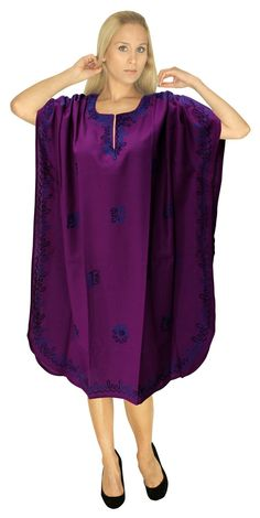018d99cc78374 Designer Embroidered Plus Size Rayon Gown Short Tunic Beach Red Lounge  Caftan Valentines Day Gifts Do YOU want KAFTAN in other colors Like Red