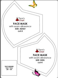 Sewing your own face mask to protect yourself from the coronavirus pandemic (wit... -  Sewing your own face mask to protect yourself from the coronavirus pandemic (with pattern and photo sewing instruction) #diy #facemask #facemaskdiy #facemaskpattern Source by 0t7wf3wz3f9jomp  -<br> Diy Mask, Diy Face Mask, Face Masks, Sewing Patterns Free, Free Sewing, Free Pattern, Pattern Sewing, Neymar, Filter