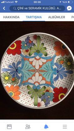Talavera Pottery, Slab Pottery, Glazes For Pottery, Ceramic Pottery, Ceramic Clay, Ceramic Plates, Ceramic Painting, Pottery Painting Designs, Pottery Designs
