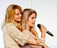 Emily & Charlotte <3 #Arrow #COH2