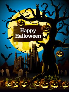Happy Halloween Card: This Fantastic Halloween Card Wishes Your Recipient
