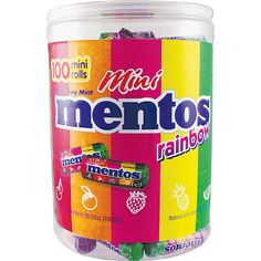 Mentos®, Mini Rainbow, 35.2 Oz Tub