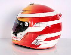 #helmade #style on an #Arai #Gp6s #racinghelmet. #motorsports #racing #antmancustomtrix #antman #trimz #neon #gradient Design your own on www.helmade.com