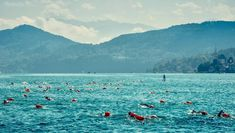 Open Water Austria.🇦🇹 The nicest place to swim. Woerthersee Swim Austria. 3-5.09.2021 #swim #openwaterswimming #openwaterswim #swimrun #swimming Open Water Swimming, Weather Conditions, Hungary, Austria, The Good Place, Mountains, Nice, Places, Travel