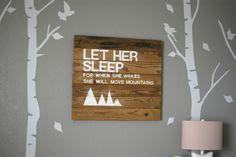 Nursery Reveal - A Woodland Themed Nursery For A Baby Girl   Climb On, Sister!